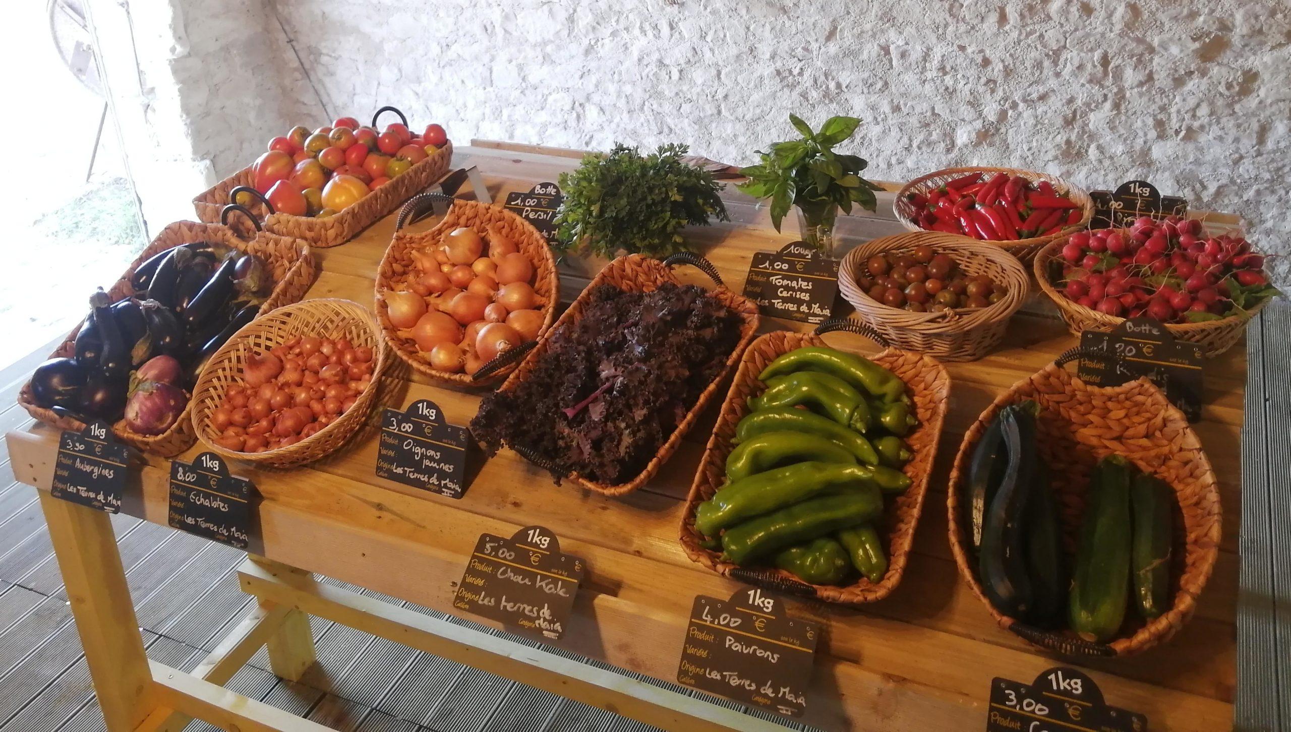 Légumes bio Périgny
